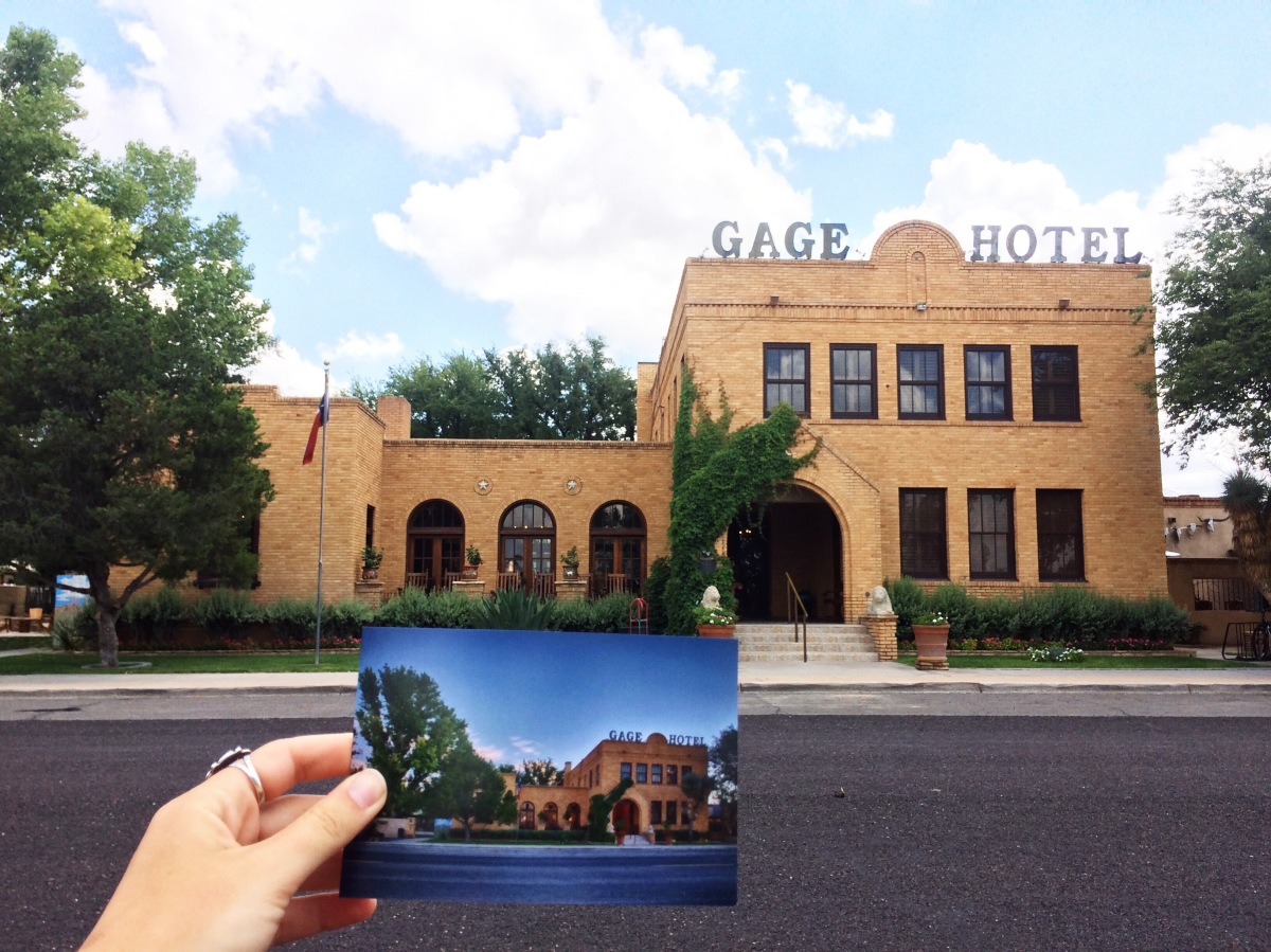The Gage Hotel in WestTexas