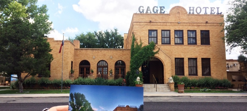 The Gage Hotel in West Texas